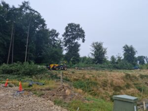 site clearance in Gilling East.